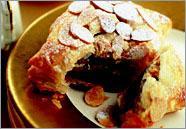 Рецепт Шоколадные пирожные с марципаном