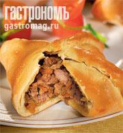 Рецепт Пикантные конвертики под сырно-горчичным соусом