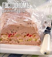 Рецепт Террин с болгарским перцем и кабачками