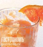 Рецепт Граните из грейпфрута