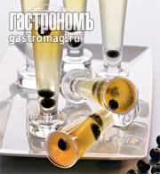 Рецепт Желе из шампанского с голубикой