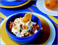 Рецепт Морковь в шампанском с апельсиновым соусом