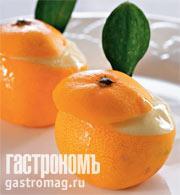 Рецепт Ледяные апельсины