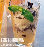 Рецепт Граните из мяты с шоколадом