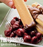 """Рецепт Быстрый десерт """"Шварцвальд"""""""