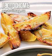 Рецепт Картофель, запеченный с еловыми веточками