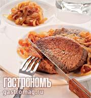 """Рецепт Жареные телячьи отбивные """"Агродольче"""""""
