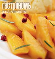 Рецепт Манго с соусом из грейпфрута