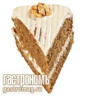 Рецепт Торт с кофе и грецкими орехами