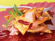 Рецепт Жареные равиоли со сливами