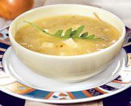Рецепт Суп из репчатого лука с брынзой