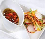 Рецепт Марокканский салат из моркови, огурца и редиса