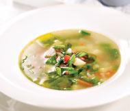 Рецепт Суп из молодой кенийской фасоли