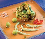 Рецепт Салат из молодого картофеля с шафраном