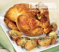 Рецепт Цыпленок в горчично-укропном соусе