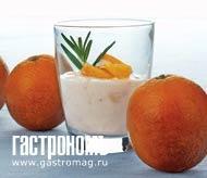 Рецепт Желе из йогурта с апельсином