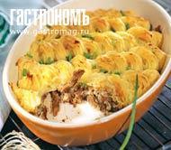 Рецепт Утиная грудка с яблочно-картофельным пюре
