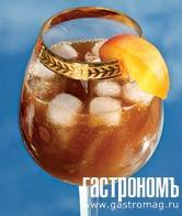 Рецепт Пряный персиковый напиток