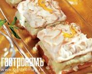 Рецепт Торт-сюрприз с лимонными меренгами