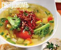Рецепт Минестроне с сушеными томатами