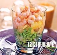 Рецепт Коктейль с креветками