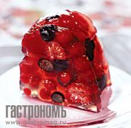 Рецепт Десерт из летних ягод