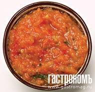 Рецепт Аджика с яблоками по-киевски