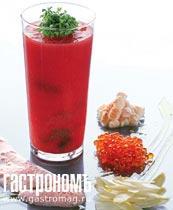 Рецепт Ледяной томатный суп с барабулькой