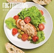 Рецепт Полло тоннато (курица с соусом из тунца)