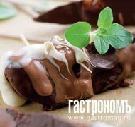 Рецепт Дольки груш, глазированные шоколадной палитрой