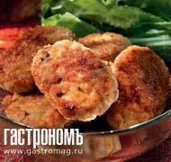 Рецепт Рубленые котлетки из лосося
