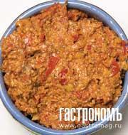 Рецепт Очень острая красная грузинская аджика