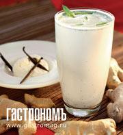 Рецепт Мятно-имбирный коктейль с мороженым