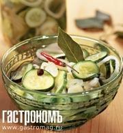 Рецепт Салат из огурцов