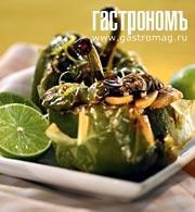 Рецепт Сладкий перец, фаршированный по-тайски