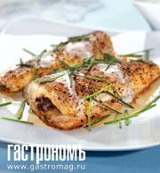 Рецепт Рыба под чесночным соусом