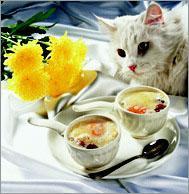 Рецепт Яйца-кокот с шампиньоновым пюре
