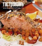 Рецепт Форель по-бретонски
