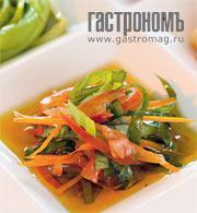 Рецепт Овощи, тушенные с томатами и апельсиновой цедрой