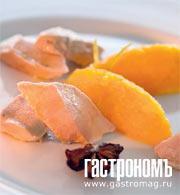 Рецепт Филе кролика, тушенное с вином и бадьяном