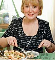 Рецепт Картофельная запеканка с лососем от Татьяны Поляковой