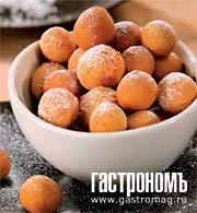 Рецепт Пончики с ванилью
