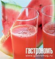 Рецепт Коктейль из арбуза с водкой