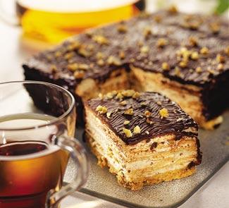 Рецепт Вафельный торт