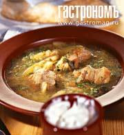 Рецепт Картофельный суп по-латышски