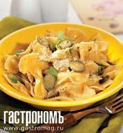 Рецепт Фарфале с миндалем и мятой