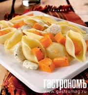 Рецепт Макароны с тыквой Урсула