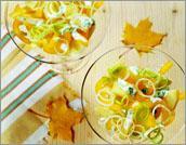 Рецепт Салат из картофеля и желтого перца