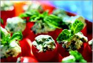 Рецепт Мини-помидорчики с базиликом