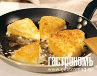 Жареный сыр рецепт пошагово в